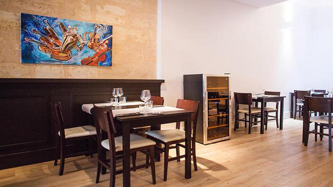 salle - Le Raviolon, Bordeaux