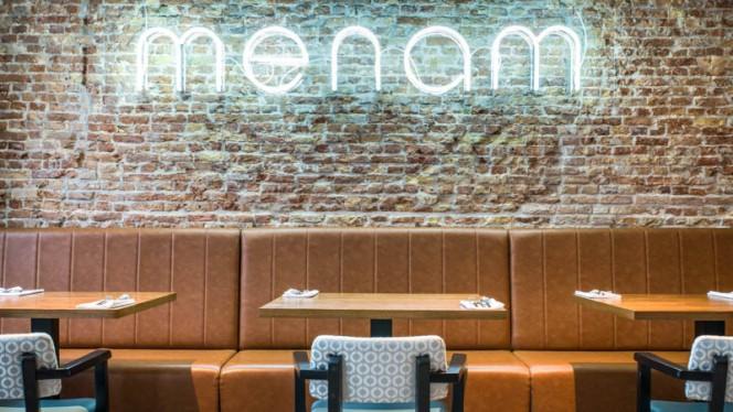 Het restaurant - Menam, Nijkerk