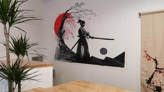Vue de la salle - Haru Sushi Bar, Lyon