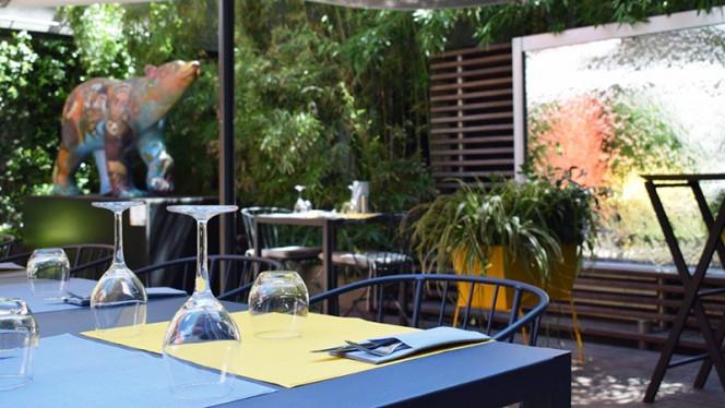 Vue de la terasse - Silk Brasserie - Hôtel Sofitel, Lyon