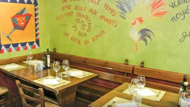 Vista sala - Taverna Degli Amici, Milan