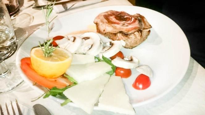 carne con formaggi - Trattoria La Ferrarese, Ferrara