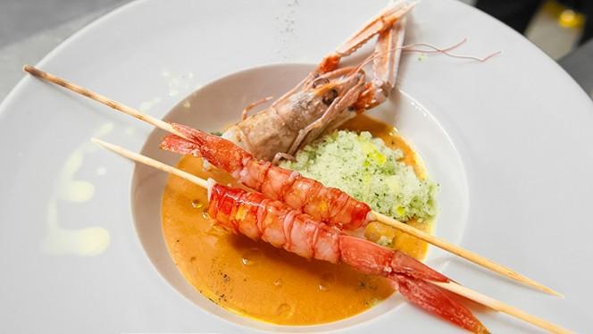 piatto di pesce - Culinaria, Rome