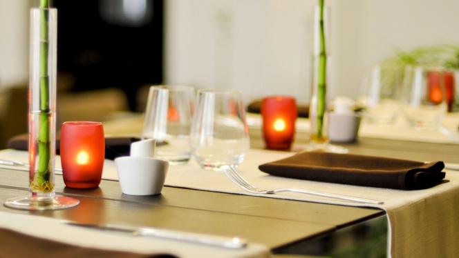 Détail de la table - Hôtel Restaurant L'Étape, Bouc-Bel-Air