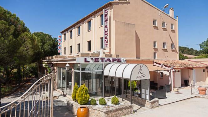 Devanture - Hôtel Restaurant L'Étape, Bouc-Bel-Air