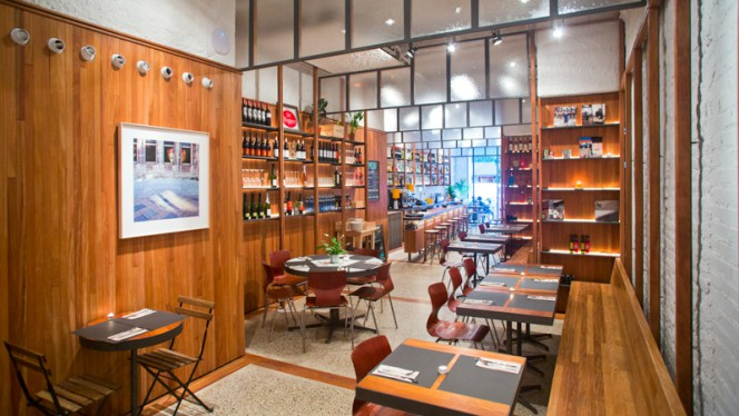 Sala del restaurante - Vivant, Barcelona