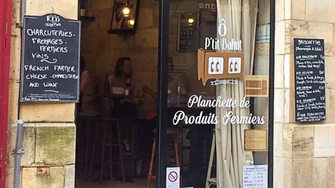 Devanture - Ô p'tit Bahut, Bordeaux