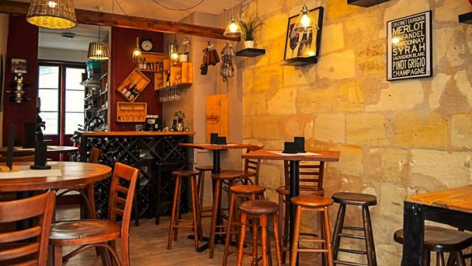 Salle du restaurant - Ô p'tit Bahut, Bordeaux