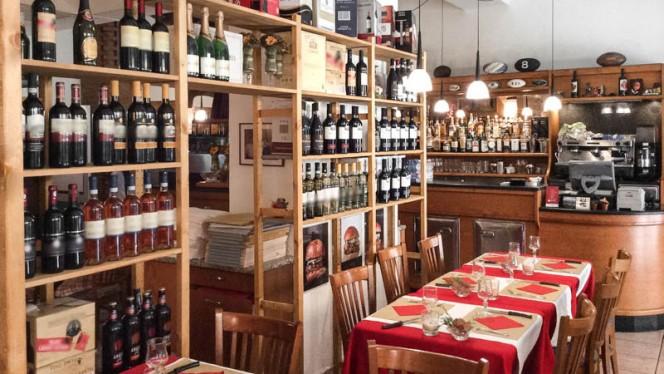 Cantina e sala - Carne e Dintorni, Milan