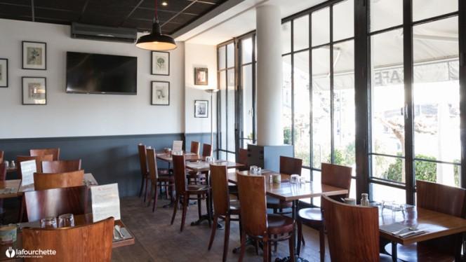 Salle du restaurant - Le Lusso, Toulouse