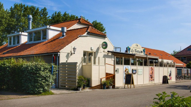 Ingang - La Bottiglia, Brouwershaven