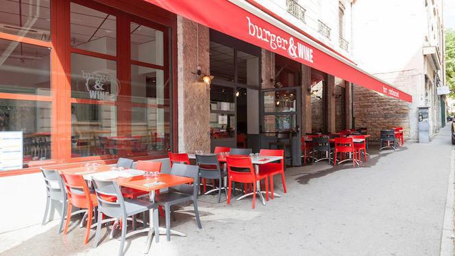 Terrasse - Burger & Wine Martinière, Lyon