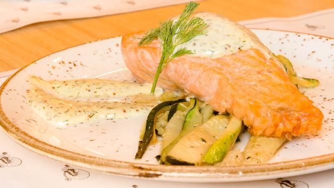 salmón al horno - Mérimée, Madrid