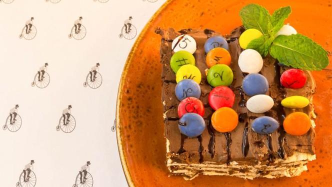 tarta de nutella - Mérimée, Madrid