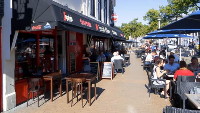 Terras - D' Ouwe Brandweer, Groningen