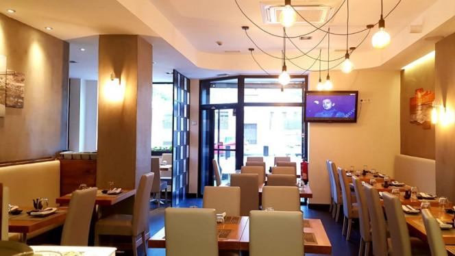 Sala del restaurante - Hinoiri, Madrid