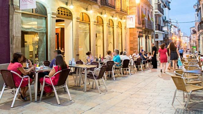 Vista terraza - Antique Restaurante y Tapas, Ubeda