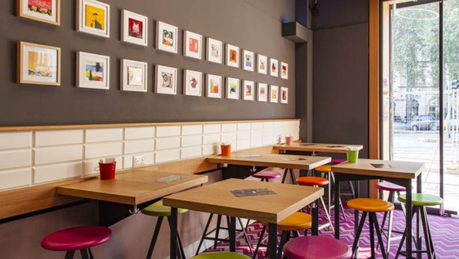 Vista sala - Vita Italian Burger, Milan