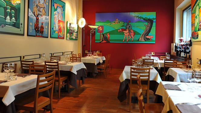 La sala - La Cantina di Manuela, Milan