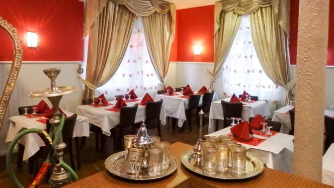 Salle du restaurant - Le Ksar, Ostwald