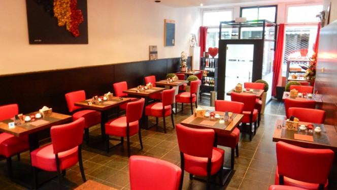 Salle du restaurant - La Marmite de Simone, Mons