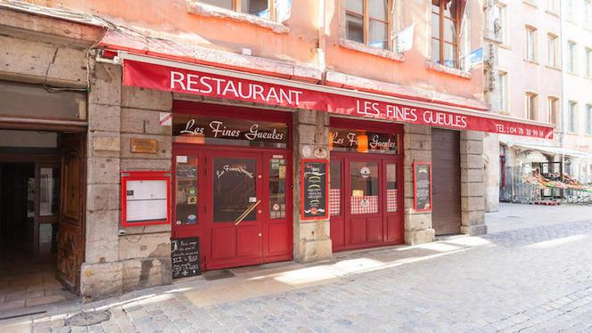 devanture - Les Fines Gueules, Lyon