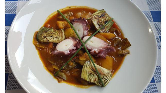 plato - Esturión - Benidorm, Benidorm