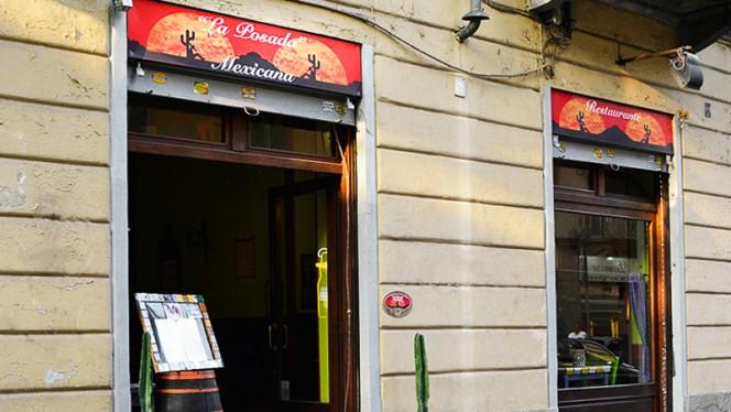 La entrata - La Posada Mexicana, Turin