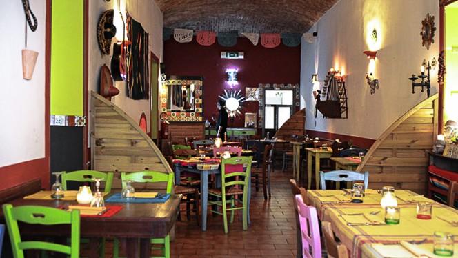 La sala - La Posada Mexicana, Turin