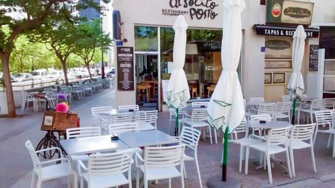 Vista terraza - Al Solito Posto, Valencia