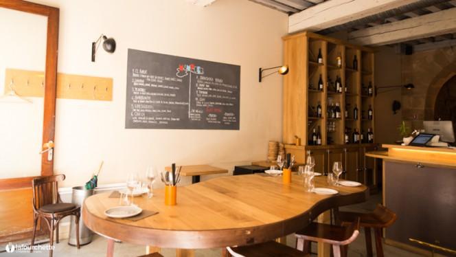 Salle du restaurant - Mampuku, Bordeaux