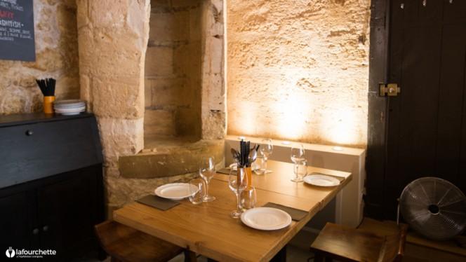Table dressée - Mampuku, Bordeaux