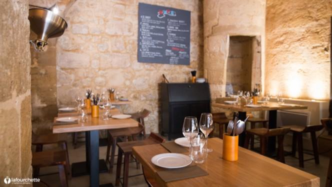 Vue des tables - Mampuku, Bordeaux