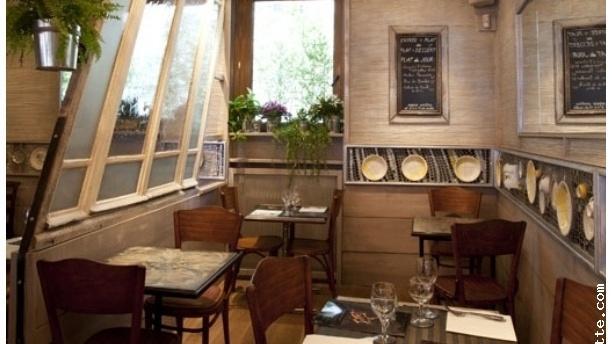 Détail de la table - Café d'Albert Paris 11ème, Paris