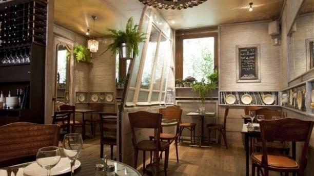 Salle du restaurant - Café d'Albert Paris 11ème, Paris