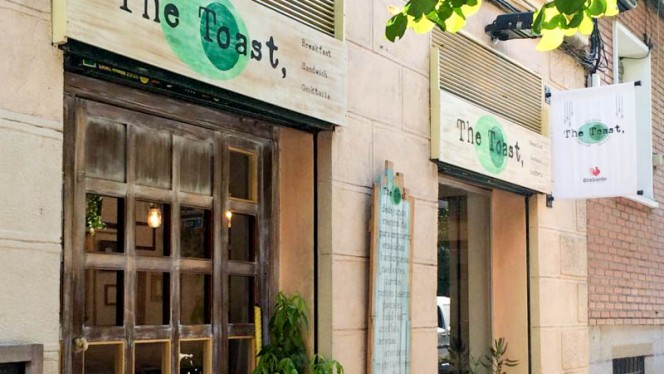 Entrada - Toast Café, Madrid