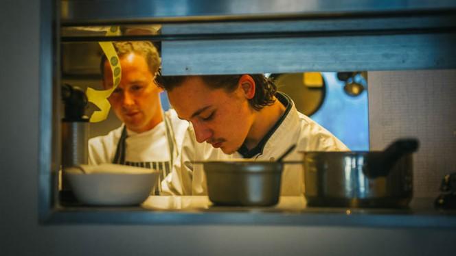 Chef-kok Willem & sous-chef Maurice - Kantine van Janssen, Rotterdam