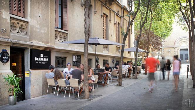 vista exterior - El Bandarra Tapería, Barcelona
