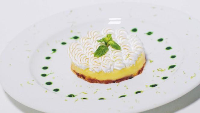 Tartelette Mojito citron vert meringuee - Mojito lime meringue tartelette - Le Pichet de Paris, Paris
