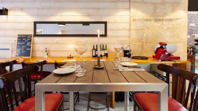 Table cosy - M&P Comptoir, Bordeaux