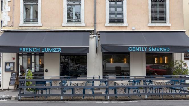 Devanture - Le French Fumoir, Lyon
