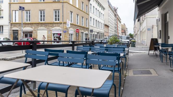 Vue de la terrasse - Le French Fumoir, Lyon
