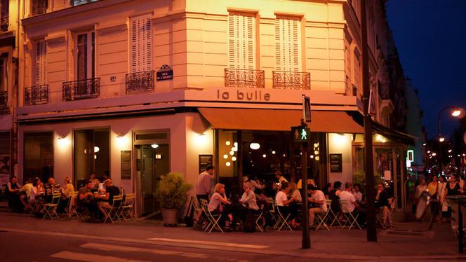Terrasse - La Bulle, Paris