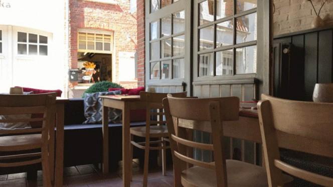 Vue de la salle - Salade Folle, Bruges