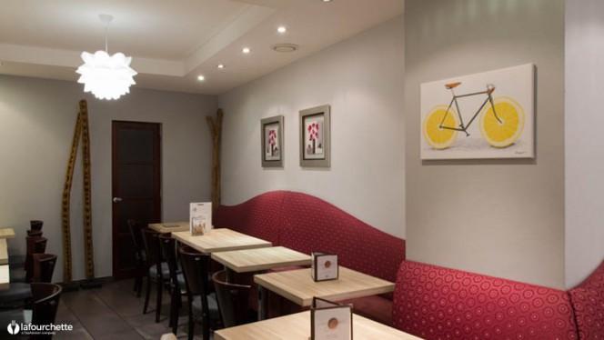 Vue de la salle - Bali Coffee, Toulouse