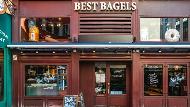 Devanture - Best Bagels Mercière, Lyon