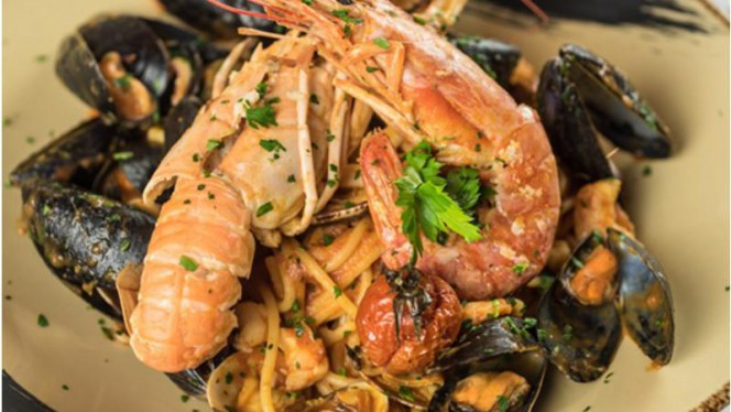 Spaghetti allo Scoglio - Ristorante Vecchia Dogana, Lazise