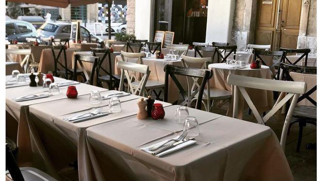 terrasse - La Table d'Augustine, Marseille