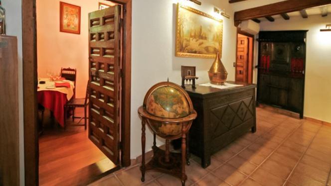 Detalle interior - Casa Carmelo, Ocaña