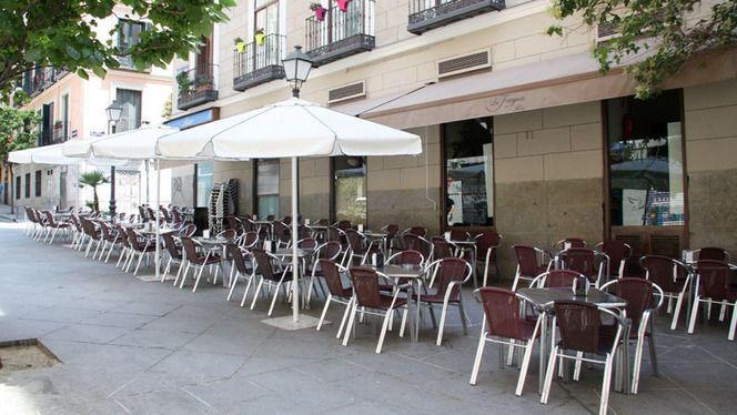 Terraza - La Fragua de Sebín, Madrid